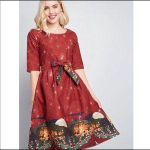 ModCloth Fab Imagination Organic Cotton Dress